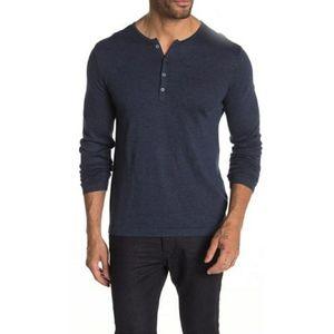 John Varvatos Star USA Henley Sweater NH15